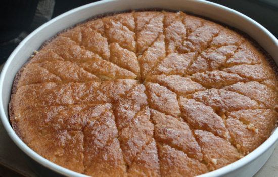 Coconut Hareesa Cake – Super Moist and Super Simple