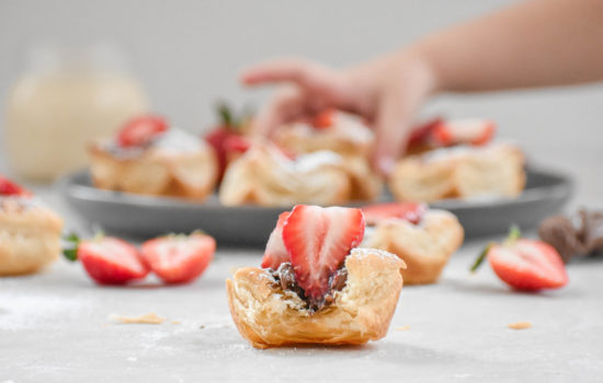 Strawberry Nutella Puff Pastry